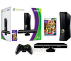 Microsoft X-Box 360 4 GB Kinect Bundle + Free Kinect Adventure Game CD (Black)