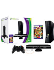 Microsoft X-Box 360 4 GB Kinect Bundle+ Free Kinect Adventure Game CD