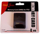 Red Gear 8 MB Memory Card (Black)