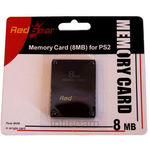 Red Gear 8 MB Memory Card, black
