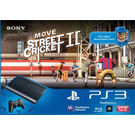 Sony PS3 12GB with Move Starter Pack & Move Game, dvd, black