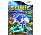 Sonic Colors, dvd, wii