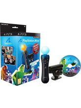 Sony PS3 Move Starter Pack (Black)