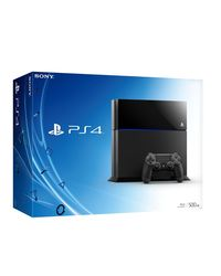 Sony PlayStation 4, black