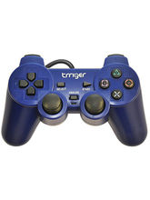 Trriger PS2 Controller, blue