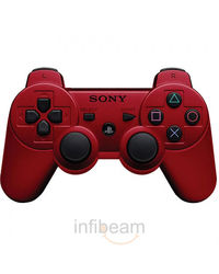 Sony Dual Shock 3 Wireless Controller,  red