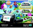 Nintendo Wii U - Mario and Luigi Deluxe Edition (NTSC), black
