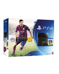 Sony PlayStation 4– Fifa 15 Bundle, black