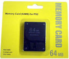Amigo PS2 64 MB Memory Card (Black)
