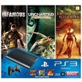Sony PS3 500GB With 3 Free Games
