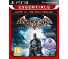 Batman: Arkham Asylum (Game Of The Year Edition) [ Essentials] ( Games, PS3), ps3, dvd
