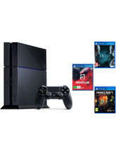 Sony PlayStation 4 With 3Games Bundle