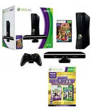 Microsoft Xbox 360 (4GB) Kinect Bundle & Kinect Sports Ultimate Collection