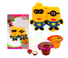 Me Minion Rakhi with Jelly - GAIK7, rakhi with imported chocolate tray