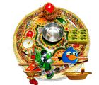 Traditional Family Rakhi Puja Thali & Soan Papdi Sweet