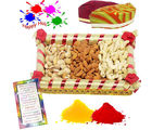 Holi Celebration With Crispy Dry Fruits