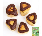 Mawa Chocolate Triangle Cake Bites