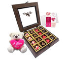 Chocholik Belgium Chocolate Gifts - Chocolaty Love Treat