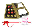 Chocholik Well-made Combination Of Wrapped Chocolates With Love Mug - Luxury Chocolates