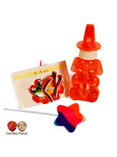 Angry Bird Rakhi With Bubble Blower And Lollipop, ...