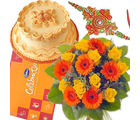 Delicious Treat With Flower Bunch