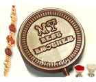Set of 4 Best Brother Chocolate Lollies