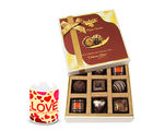 Chocholik Mesmerizing Box Of Delightful Chocolates With Love Mug - Luxury Chocolates