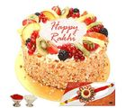 Mix Fruit Cake With Rakhi