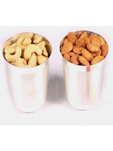 Silver Dryfruit Glasses (200 Gm)