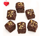 Chocolate Square Cake Bites