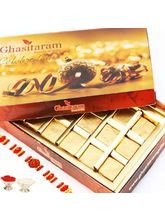 Rakhi With Assorted Chocolate Box