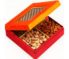 Orange Laser Dryfruit Box Box