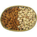 Oval Shape Dry Fruit Cane Basket
