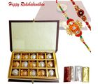 Rakhi Wishes With Rich N Delicious Chocolates