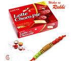 Choco pies with Rakhi