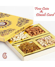 Handcrafted Box With Hand Picked Dry Fruits