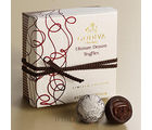 4 pc. Ultimate Dessert Chocolate Lava Cake Truffles Gift Box (2.6 Oz)