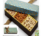 3 Partition Dryfruit Box