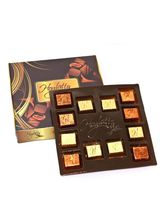 Hoglatto Nuts Assorted chocolates in tray - 12 Chocolates