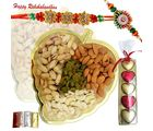 Rakhi Wishes With dryfruit N Assorted Chocolates