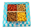 Blue Assorted Kaju Tray