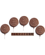 Set Of 5 Lollies With ILU - My Best Sister Chocolates (200 Gm)