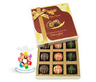 Chocholik Just Trufs Assorted Chocolates Gift Hamper With Friendship Mug - Luxury Chocolates