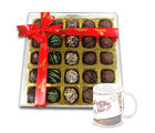 Chocholik Special Sweet Choco Combo With New Year Mug - Belgium Chocolates