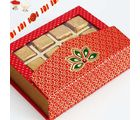 Rakhi With Pink Designer Chocolate Box