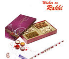 Big Dryfruit Box and Rakhi Hamper