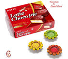Choco Pie Box With Terracota Diyas