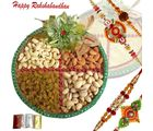 Rakhi Dryfruits Thali Filled With Affection N Love