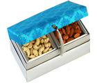 Blue Kaju Badam Box