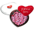 Naughty Love-Nutty Loved Ones Hearts Chocolates (250 gm)